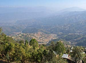 View from Dhulikel