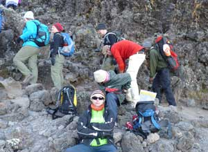 Climbing Barranco Wall