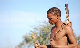 San Bushman of Botswana