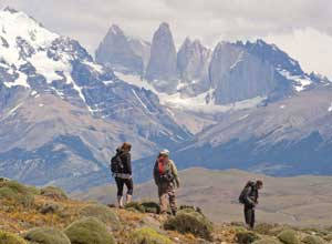 Hiking from Tierra Patagonia