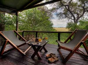 Relax between safari activities