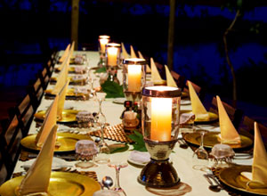 Dinner time at Lagoon Camp