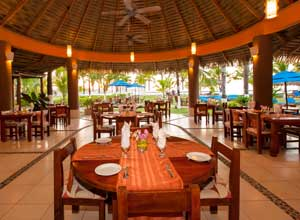 The restaurant at Bahia del Sol