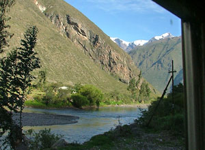 Enjoy views from the Vistadome train to Machu Picchu