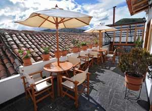 Casa San Blas roof terrace