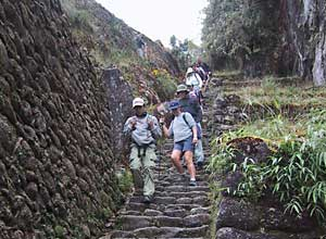 The end of the Inca Trail, Machu Picchu
