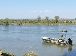 Zambezi River boat trip