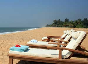 Lazy beach day at Neeleshwar