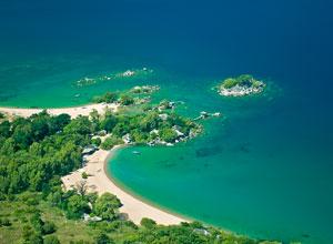 Aerial view of Kaya Mawa
