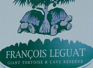 Francois Legaut giant tortoise and cave centre