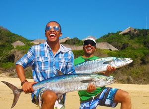 Machangulo Beach Lodge offers fishing trips
