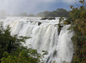 Witness the power of Victoria Falls on The Elephant Safari