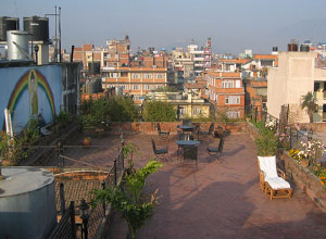 Kantipur Temple House roof terrace