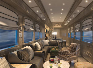 Belmond Andean Explorer train to Puno