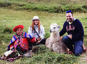Visit a llama and alpaca farm in the Sacred Valley