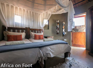 Africa on Foot bedroom
