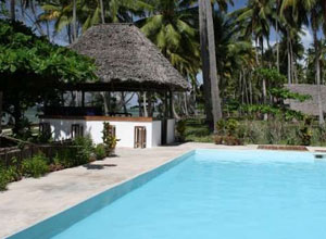 Pool at Ras Mbisi