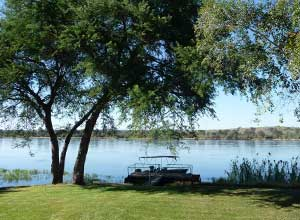 Zambezi River at Waterberry Lodge