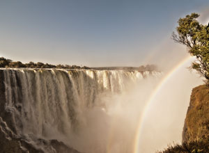 See the amazing Victoria Falls