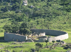 See the ruins at Great Zimbabwe