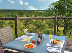 Breakfast at The Elephant Camp